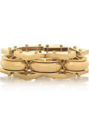 Lele Sadoughi Satellite gold-plated bracelet