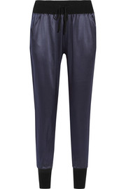 Nouba Crooner silk-satin pajama pants