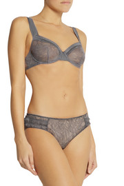 Monette Café de Flore lace soft-cup underwired bra