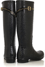 Jimmy Choo Crocodile-print Wellington boots