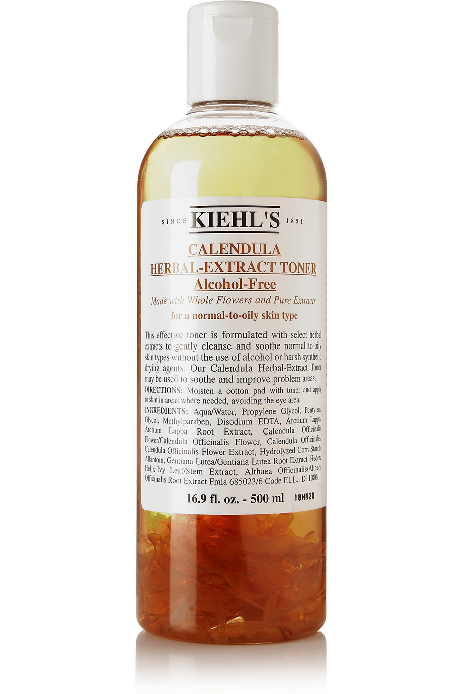 Calendula Herbal-Extract Alcohol-Free Toner, 500ml, by Kiehl's Since 1851