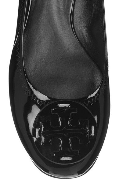4acaabfca92 Tory Burch. Reva patent-leather ballet flats.  195. Zoom In