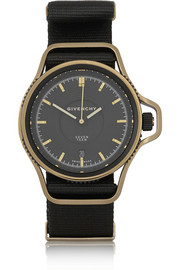 Seventeen watch in gold PVD-plated stainless steel