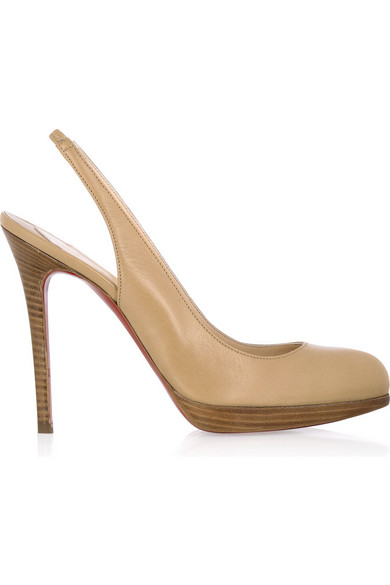 c4180a47f96 Christian Louboutin. Horatio 120 leather pumps