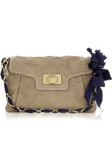 Lanvin Wrinkled lambskin shoulder bag