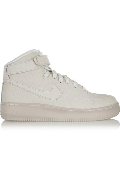 Nyc Force Air Leather High Top Sneakers 1 erCoxBd