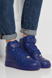 Nike Air Force 1 Paris leather high-top sneakers