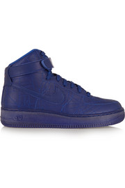 Air Force 1 Paris leather high-top sneakers