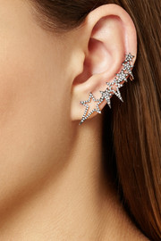 Diane Kordas 18-karat rose gold diamond ear cuff