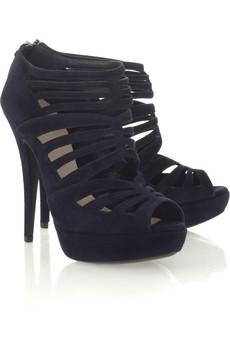 Miu Miu|Suede cutout sandals|NET-A-PORTER.COM from net-a-porter.com