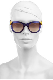 Chromaty D-frame acetate sunglasses