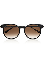 Thierry Lasry Painty round-frame acetate sunglasses