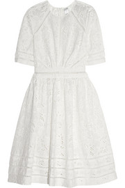 Zimmermann Roamer broderie anglaise cotton dress