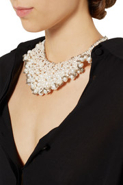 Rosantica Freshwater pearl and palladium-plated necklace
