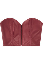 Kiki de Montparnasse Leather bustier
