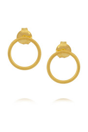 Maria Black Mono gold-plated earrings