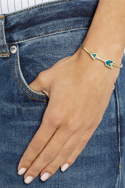 Jennifer Meyer 18-karat gold, opal and diamond bracelet