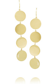 18-karat gold drop earrings