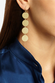 Jennifer Meyer 18-karat gold drop earrings