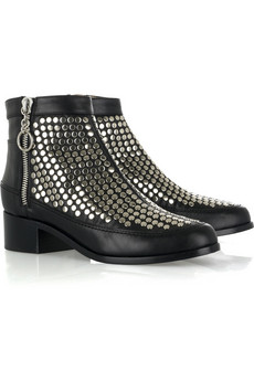 Proenza Schouler Studded leather boots