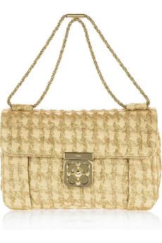 Chloé Elsie lamé shoulder bag