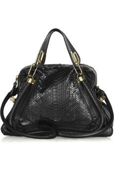 ChloéParaty python bag