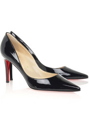 Christian Louboutin New Decoltissimo 85 patent-leather pumps