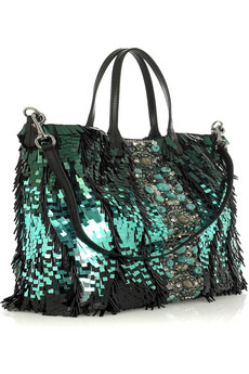 Valentino Paillette-embellished tote