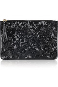 Valentino Primavere floral leather clutch