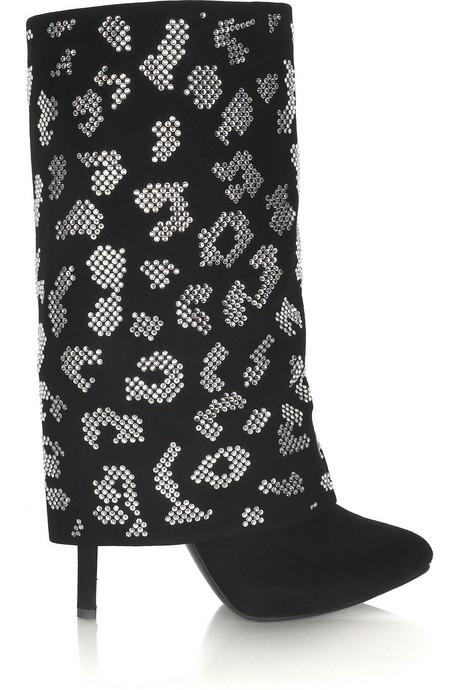 Balmain|Crystal animal-print boots|NET-A-PORTER.COM from net-a-porter.com