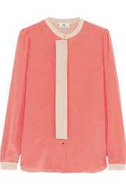 DAY Birger et Mikkelsen Silk crepe de chine blouse