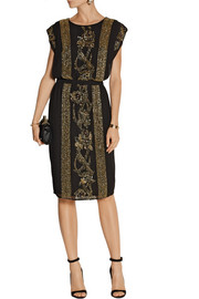 DAY Birger et Mikkelsen Night Goldie embellished crepe dress