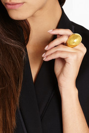 Finds + Catherine Prevost 18-karat gold nugget ring