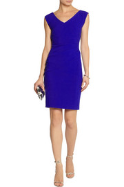 Diane von Furstenberg Bevin ruched stretch-jersey dress