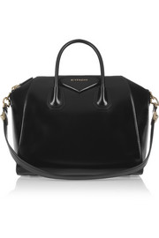 Medium Antigona bag in black leather