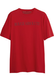 Valentino Cash & Rocket Rouge Absolute cotton T-shirt