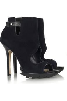 Camilla Skovgaard Suede cutout boots