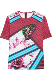 + Mary Katrantzou Turkoplus neoprene T-shirt