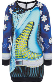 + Mary Katrantzou Rowdy scuba-jersey mini dress