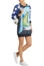 adidas Originals + Mary Katrantzou Rowdy scuba-jersey mini dress