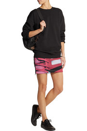 adidas Originals + Mary Katrantzou Charger scuba-jersey mini skirt