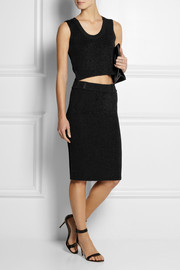 Calvin Klein Collection Rishi cropped stretch-knit top
