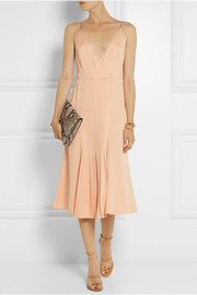 Calvin Klein Collection Kaylinn pleated silk dress