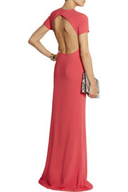 Calvin Klein Collection Belza stretch-crepe maxi dress