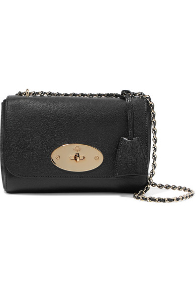 0f658aea7a25 Mulberry. Lily small textured-leather shoulder bag