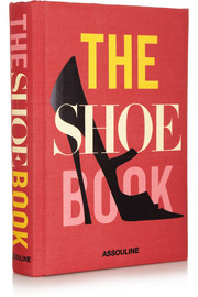 Assouline The Shoe Book by Nancy MacDonell hardcover book
