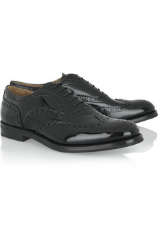 Church's Patent Burwood brogues