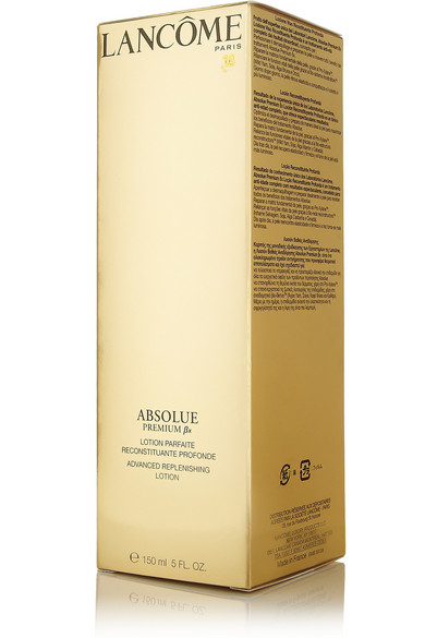 how to use lancome absolue replenishing lotion