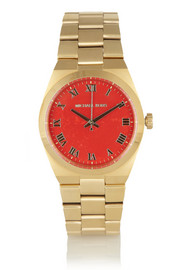 Michael Kors Channings gold-tone stainless steel watch