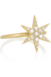 Finds + Zoe and Morgan Fine Jewelry 9-karat gold diamond ring